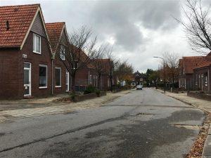 Oud (en huidig) aanzicht van de Heuvelstraat